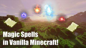 ERROR 422's Magic Spells Minecraft Data Pack