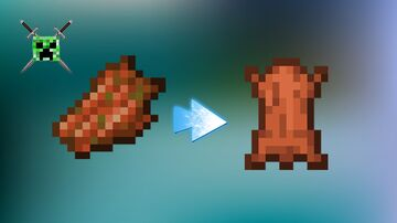 Rotten Flesh To Leather And Get A Lot Of Experience Made By Shadowbrine15 Minecraft Data Pack
