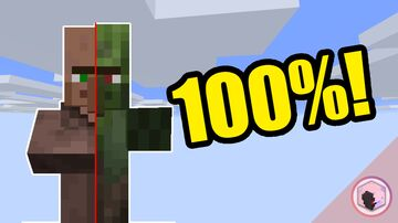Zomberts! 100% Villager to Zombie Villager infection rate on ANY difficulty (except Peaceful, of course) Minecraft Data Pack