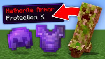 Minecraft, But Hostile Mob Drops OP Items... Minecraft Data Pack