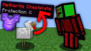 Minecraft But Eggs Are OP Minecraft Data Pack