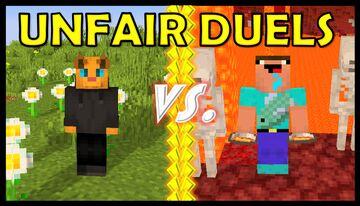 Lava King - UNFAIR DUELS Minecraft Data Pack