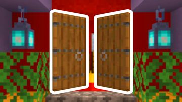 Animated Double Doors (Better Doors) Minecraft Data Pack