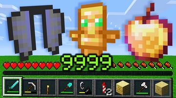 Minecraft, But XP Drops OP Loot... Minecraft Data Pack