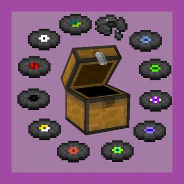 Diverse Dungeon Discs Minecraft Data Pack