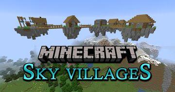 Sky Villages Minecraft Data Pack