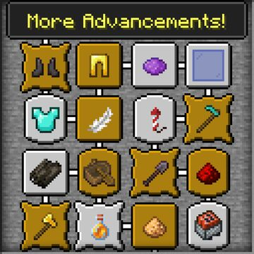 Advance Some More (More Advancements Pack!) Minecraft Data Pack