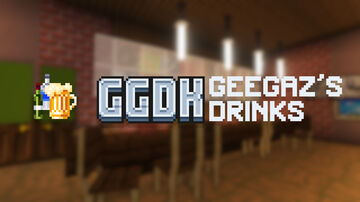 GGDK (Geegaz's Drinks) - 8 new drinks for your game Minecraft Data Pack