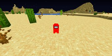 Minecraft but Among Us Are in the game Minecraft Data Pack