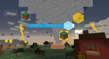 Mega Tornado V1.7 datapack for Minecraft 1.13.2+ (resource pack required) Minecraft Data Pack
