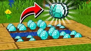 Growing Diamonds Minecraft Data Pack