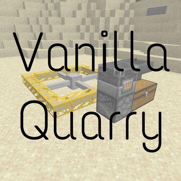 Vanilla Quarry Minecraft Data Pack