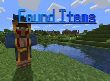 Found Items - Useful Wandering Traders Minecraft Data Pack