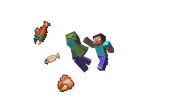 Minecraf, But Zombies drop FOOD :) (DataPack) Minecraft Data Pack