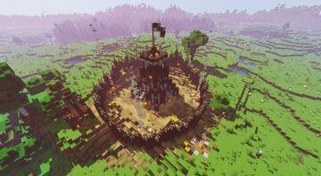 [DP] Pillager Outpost Minecraft Data Pack