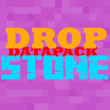 StoneDrop v1.0 Minecraft Data Pack