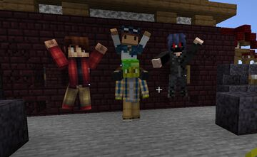 Player Models - A datapack for adding and posing player models Minecraft Data Pack