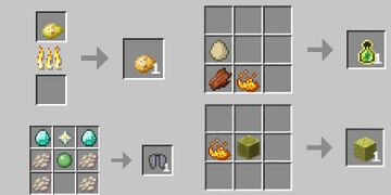more recipes Minecraft Data Pack