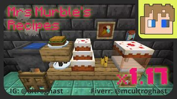 Mrs Murble's Recipes (1.17 version) Minecraft Data Pack
