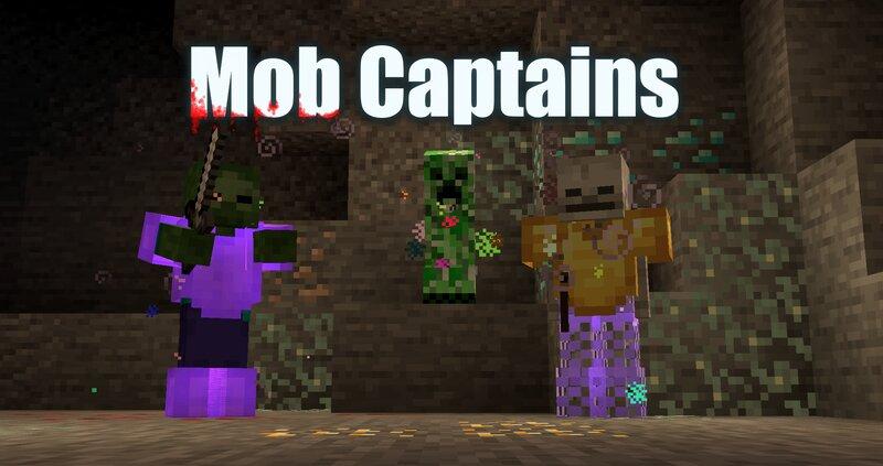 Mob Captains sparkle in rainbow colors!