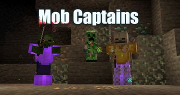 Mob Captains | Rare and strong mobs with custom loot! Minecraft Data Pack