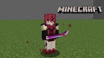 Custom Sword Blood Sakura Minecraft Data Pack