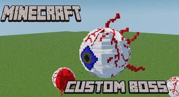 Custom Boss Eye of Cthulhu Minecraft Data Pack