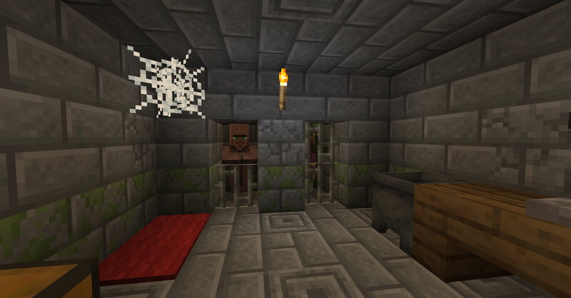 The only place where villagers had a change to stay alive is deep underground in the belly of some igloos.
