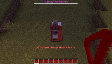 Do Not Sleep Minecraft Data Pack