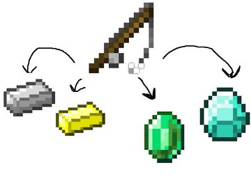 Fish Up Ores Minecraft Data Pack