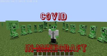 MINECRAFT BUT IT IS COVID Minecraft Data Pack