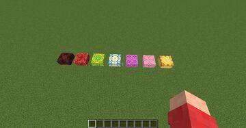 Parkour blocks Minecraft Data Pack