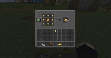 Golden Potato Recipe Minecraft Data Pack