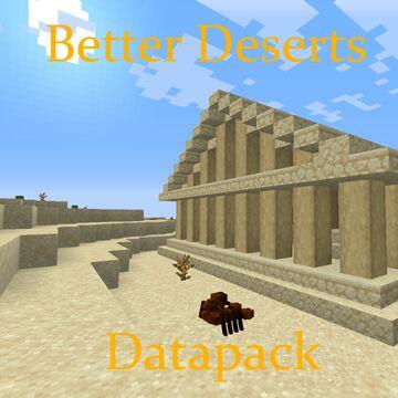 Mkermitz Better Deserts Data pack 1.16 v1.0 Data pack Minecraft Data Pack