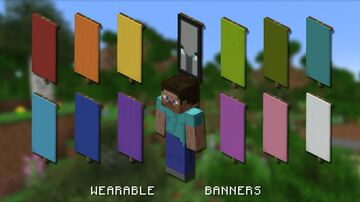 Wearable Banners Minecraft Data Pack