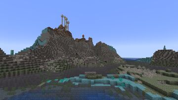 Primordial Shores add-on for William Wythers' Overhauled Overworld 1.17 Minecraft Data Pack