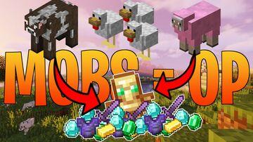 Minecraft but all Mobs drop OP loot | Aquilix Minecraft Data Pack