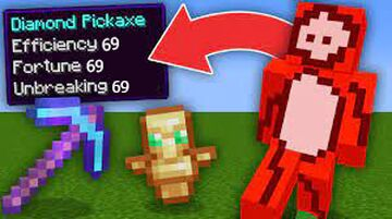 Minecraft, But Taking Damage Drops Extremely OP Items... Minecraft Data Pack