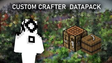 Custom Crafter (1.16.4/1.16.5 datapack) Minecraft Data Pack