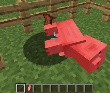 Pig Leather Minecraft Data Pack