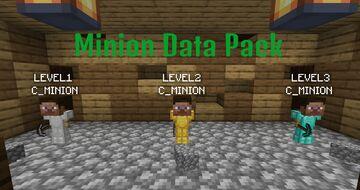 MINION DATA PACK! Minecraft Data Pack