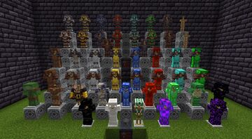 McR - Gear Overhaul [1.14 - 1.17] - Over 100+ Armors, and 300+ Tools and Weapons Minecraft Data Pack
