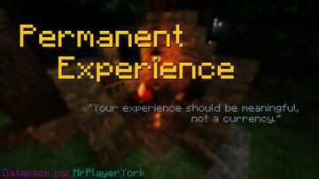 Permanent Experience Minecraft Data Pack