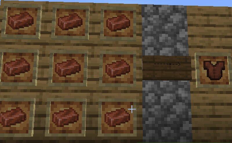 Copper chestplate Recipie