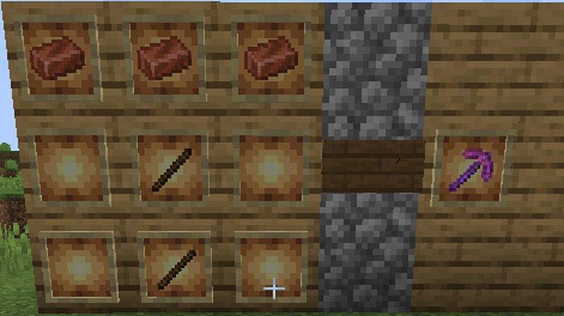 Copper Pickaxe recipie