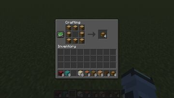 Logs to Chests Crafting Recipe Data Pack Minecraft Data Pack