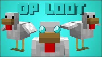 Minecraft, but chickens drop OP LOOT!! Minecraft Data Pack