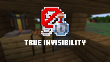 True Invisibility Minecraft Data Pack