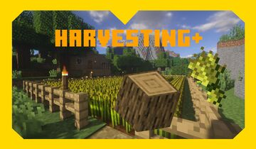 Harvesting+ | Data Pack Minecraft Data Pack