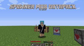 Spawner Mob Machine Minecraft Data Pack